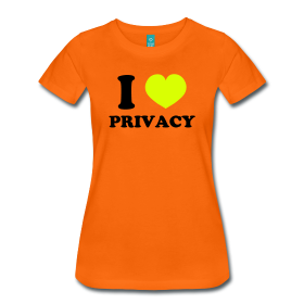 cybertshirt i love privacy